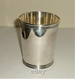 Wilcox Silver Co. Sterling Silver Mint Julep Cup #200 1/2